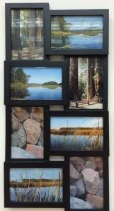 Fabric Interpretations of Photos, by Joyce Murrin