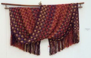 Supplemental Warp Scarf, by Lesley Campana