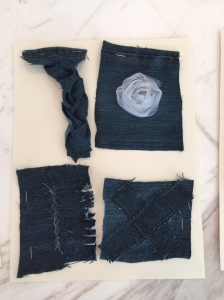 Playing with denim