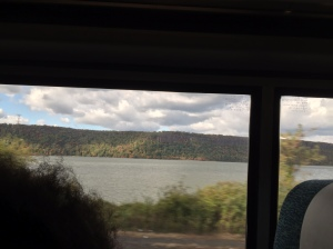 Lovely train ride along the Hudson